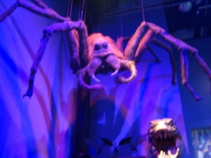 Who's scared of giant spiders? My daughter!!